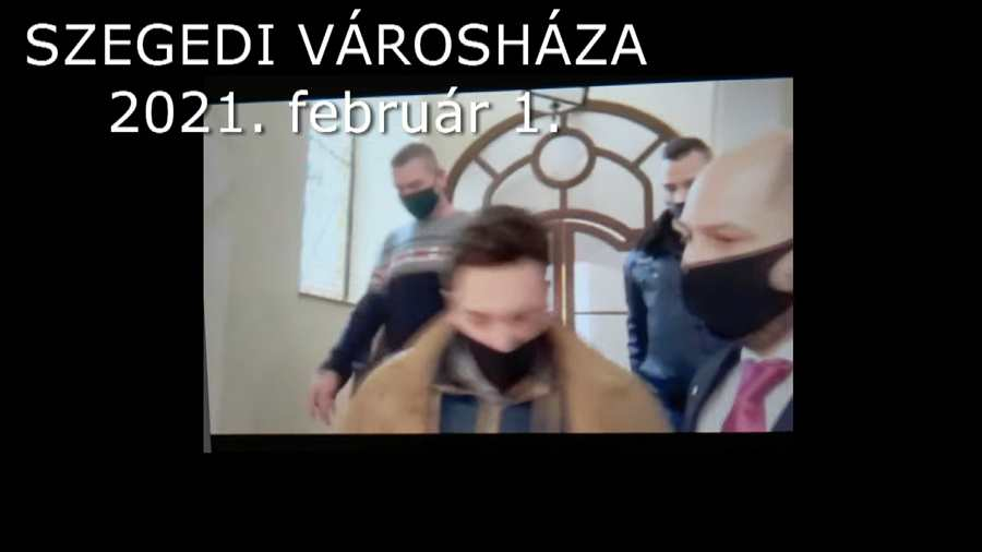 ÁVH-t idéző botrány a szegedi városházán! (videó)